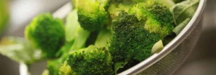 Как хранить капусту брокколи?