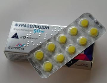 Как давать курам фуразолидон?