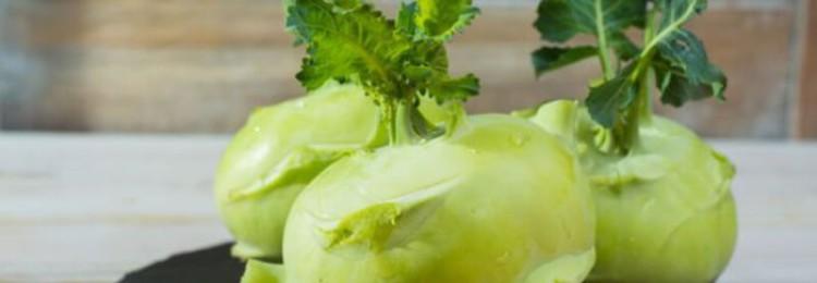 Как хранить капусту кольраби?