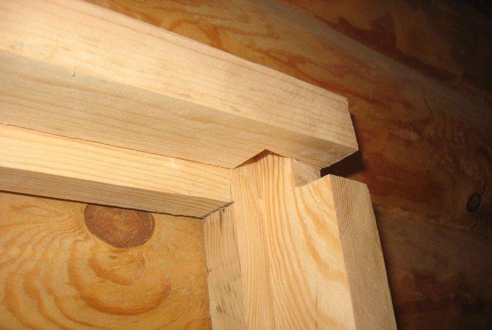 Деревянные дверные коробки