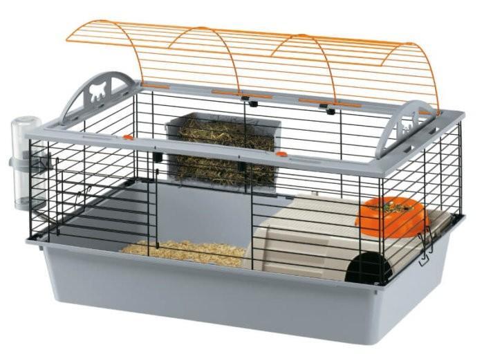 Современная клетка для кролика