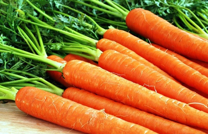 Морковь полезна для кролика