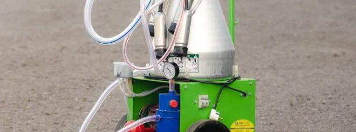 Аппарат снабжается тележкой на колесах