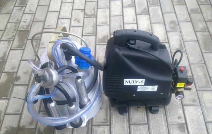 Доильный аппарат МДУ-5