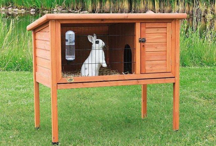 Крольчатник для одного кролика