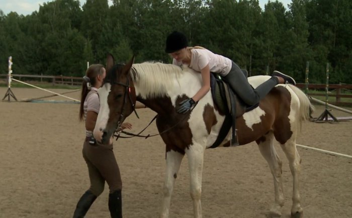 Как спуститься с коня