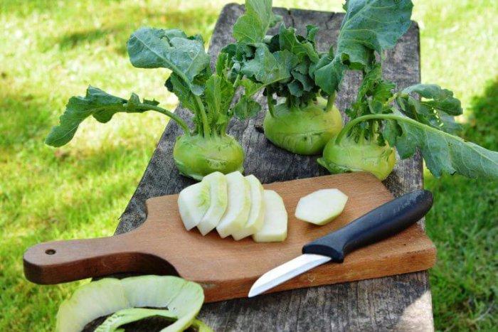 Плоды кольраби