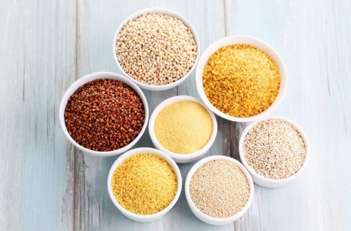 Зерновые культуры – пшено, ячмень, овёс, кукуруза