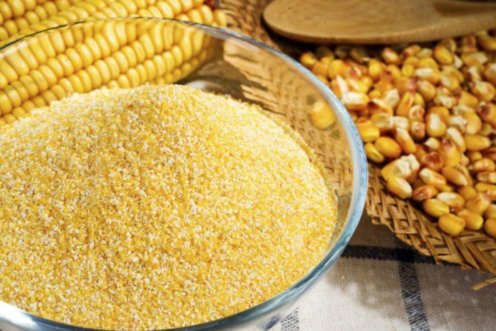 Молотая кукурузная крупа