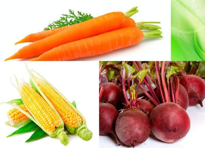 Овощи в рационе кур
