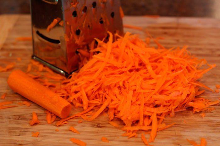 Морковь для цыплят