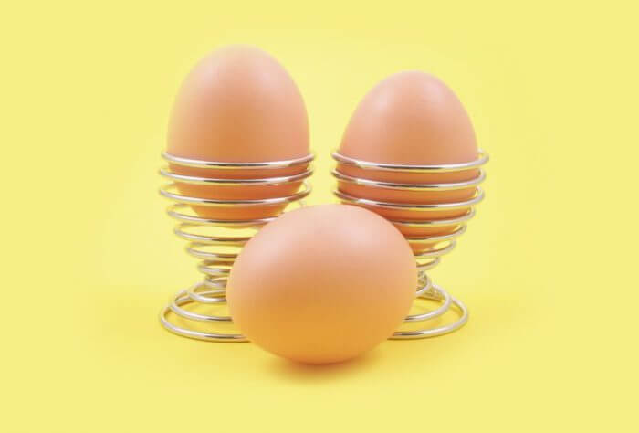 Яйца с плотной скорлупой