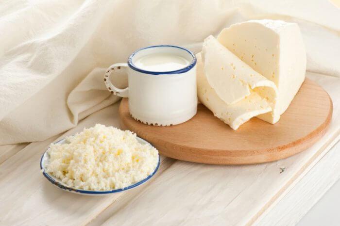 Нежирные кисломолочные продукты