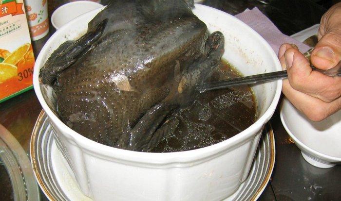 Тёмное мясо лакеданзи
