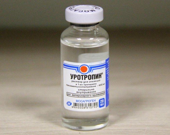 Уротропин применяется при подагре у кур