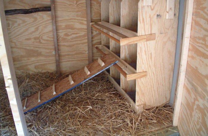 Гнездовья для несушек