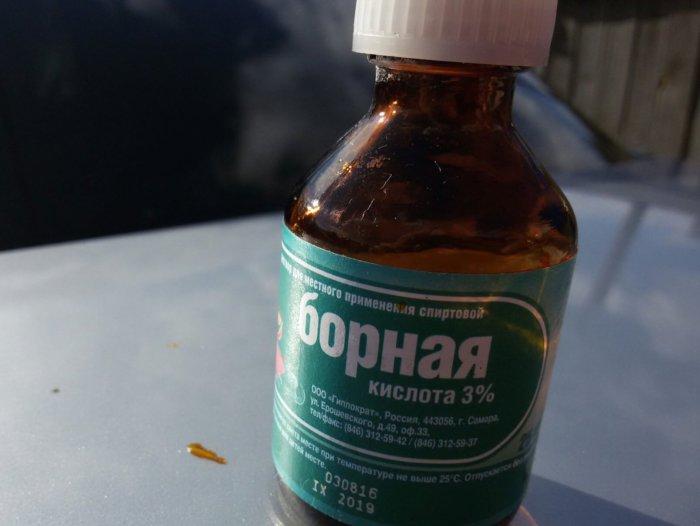 Борная кислота не лечит отодекоз