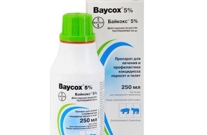 Байкокс для лечения эймериоза у кур