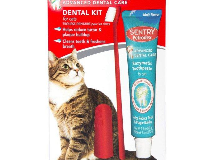 Набор для гигиены полости рта для кошек