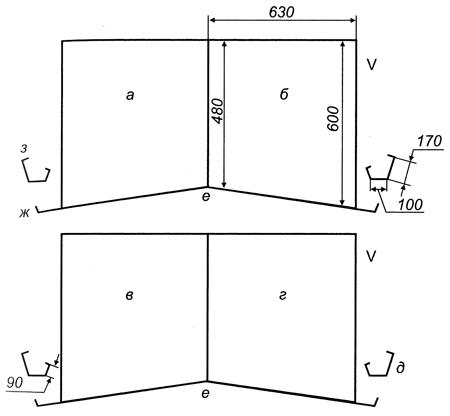 Клетки для кур несушек своими руками чертежи размеры 56