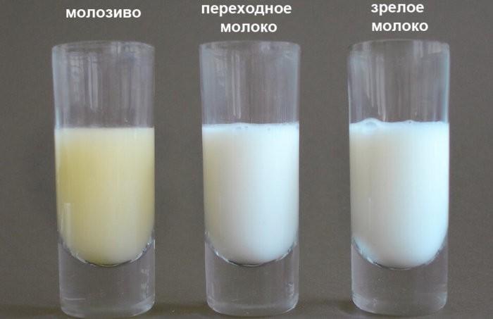 Три этапа на примере молока