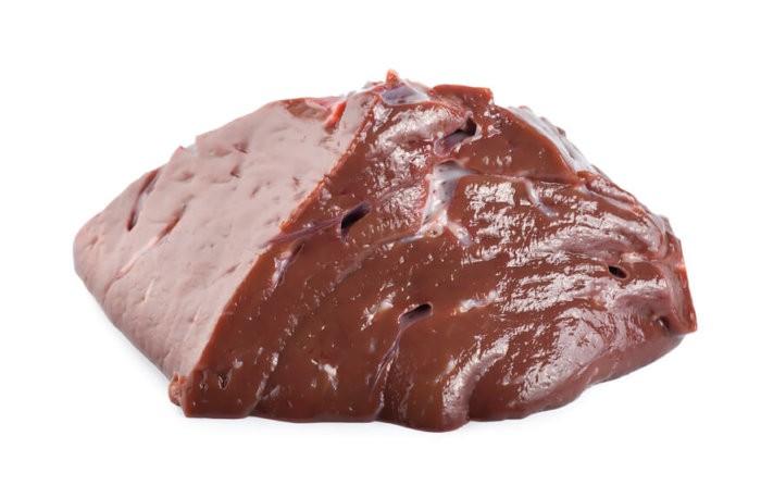 Печень коровы