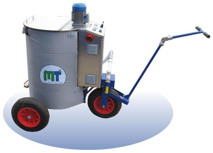 Современная модель молочного такси