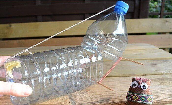 Ловушка для крыс из пластиковой бутылки