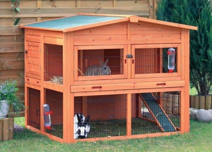 Готовый домик для кролика