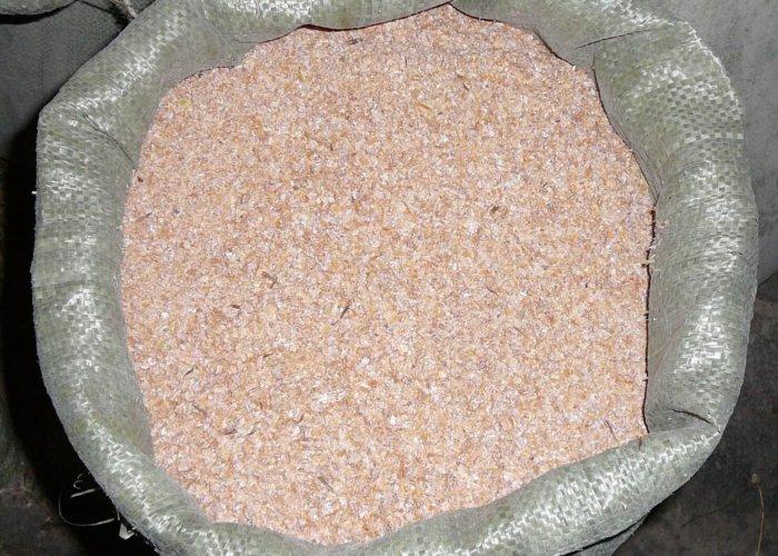 Пшеничные отруби для свиней