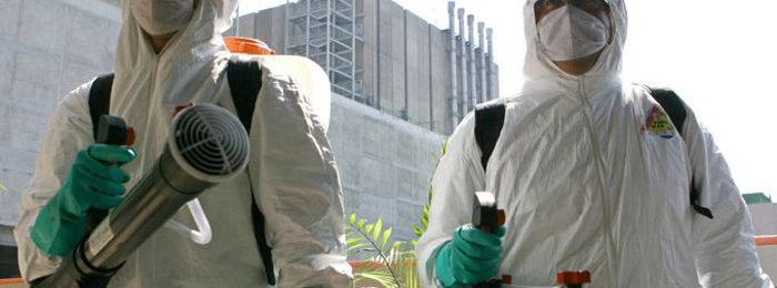 Меры предосторожности при дезинфекции