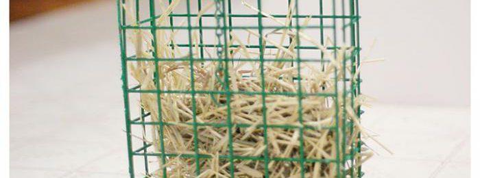 Сенник для кроликов