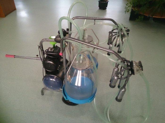 Как выглядит доильный аппарат АИД-2
