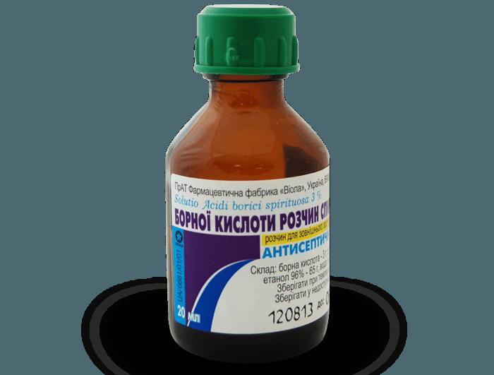 Раствор борной кислоты
