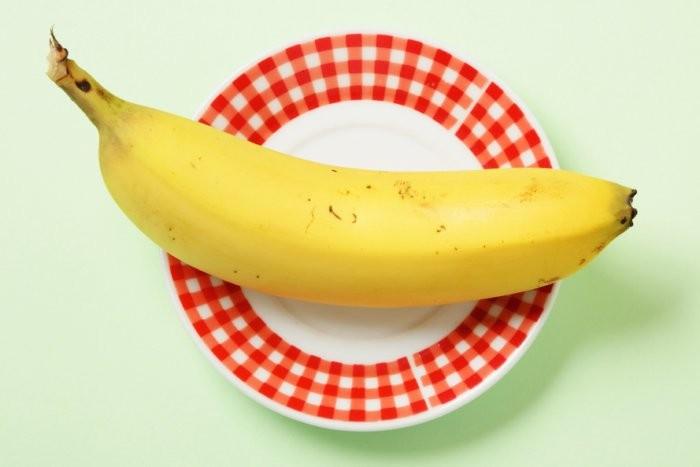 Банан очень калорийный