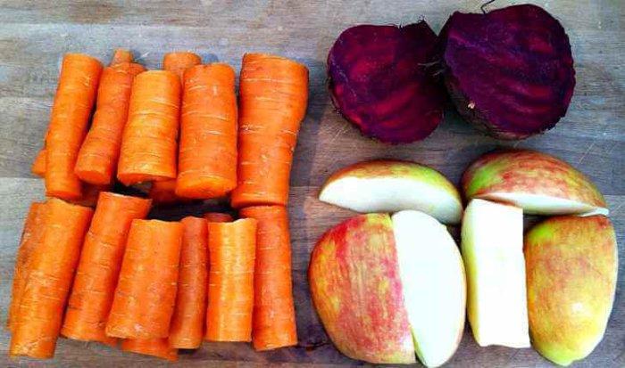 Овощи и фрукты в рационе