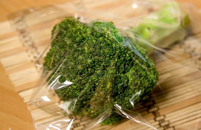 Хранение брокколи в холодильнике